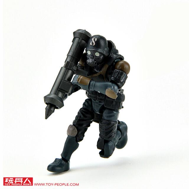 超好玩的科幻軍武系列正式登場!B2FIVE - 《酸雨戰爭》1/28 比例系列WAVE 1 開箱報告PART:1