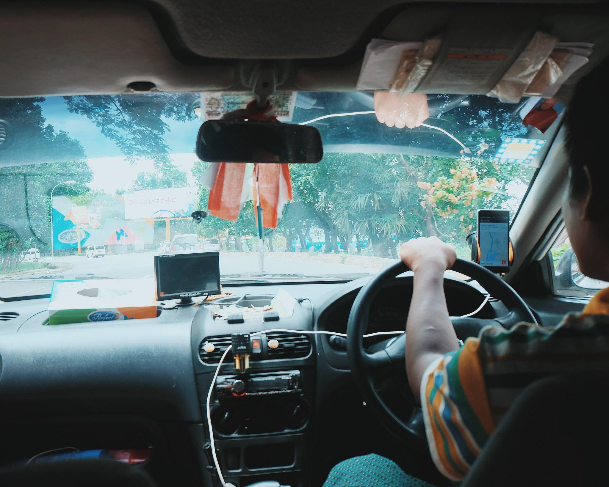 myanmar uber