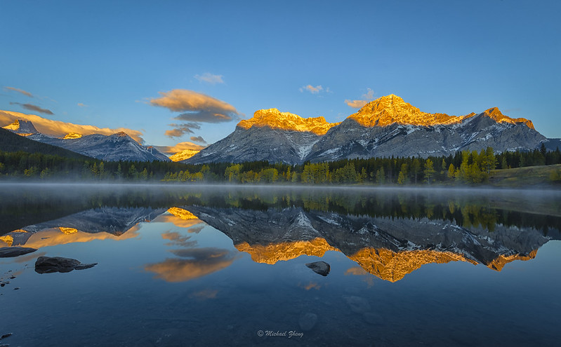 A Perfect Morning in Canadian Rockies