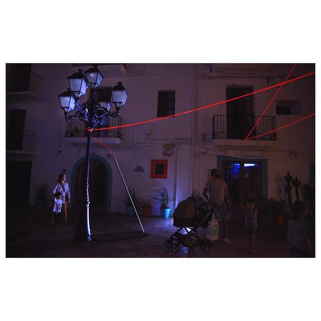 📍 #LaCoutureArtwork at the @ibizalightfestival 2017 w/ @douglascabel . . . . . . #IbizaLightFestival #art #arte #artist #artwork #artgram #contemporaryart #concursoibizalightfestival #canonofficial #artcontemporain #arttherapy #lightart #pub
