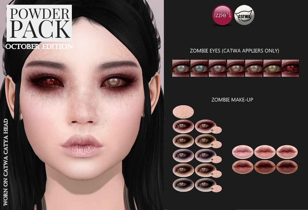 Powder Pack Catwa October Edition Zombie Eyeshadows Eyes Flickr