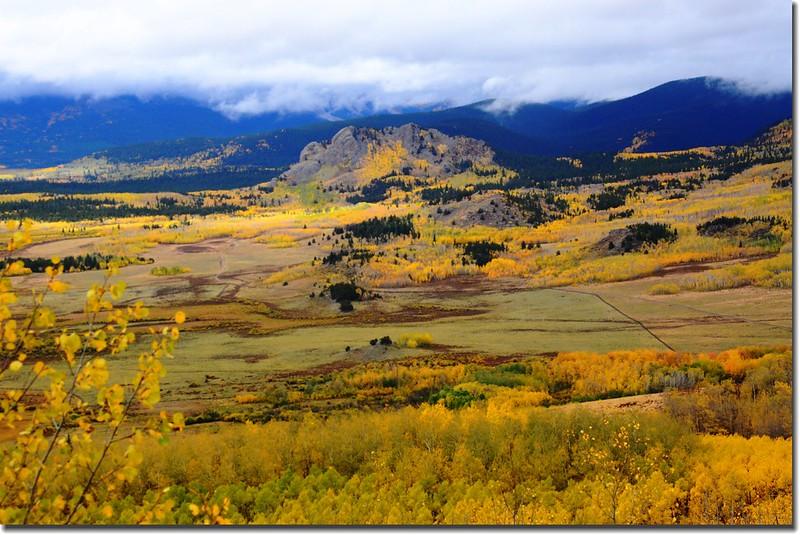Jefferson Hill from Colorado Trail