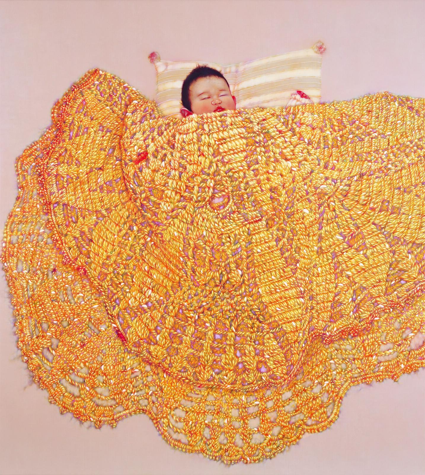 木下晋《休息》(2010年、平塚市美術館)
