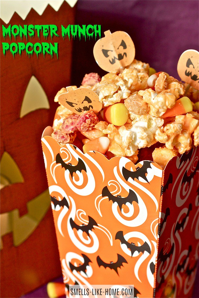 Halloween Monster Munch Popcorn