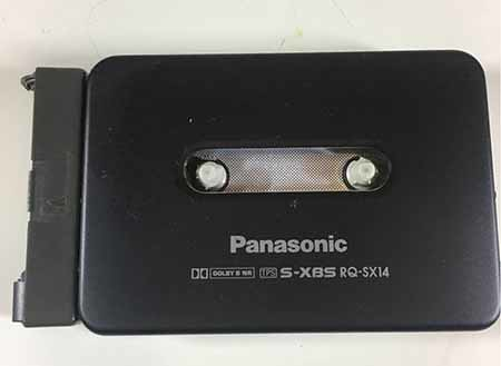 Panasonic stereo cassette player RQ-SX14
