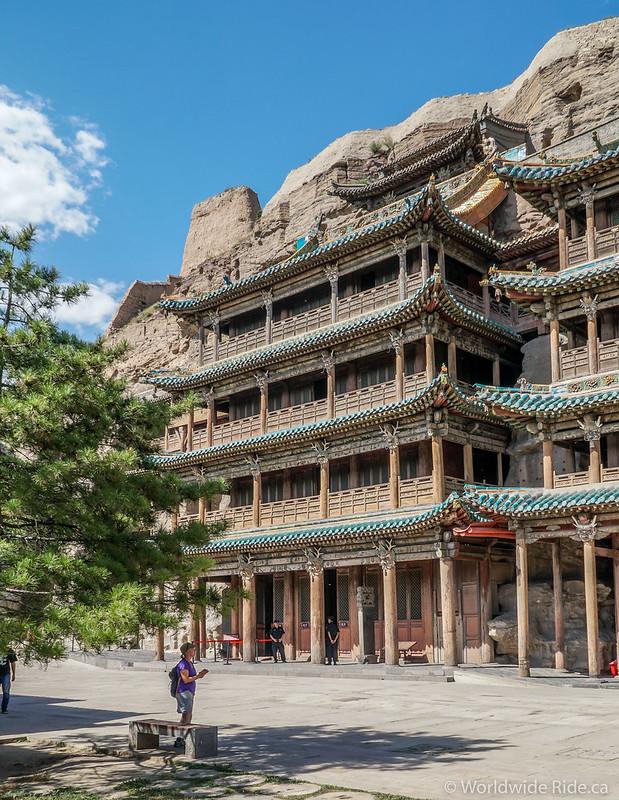 China Datong Grottos-17