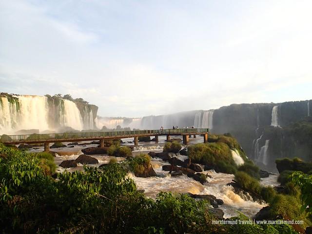 Iguazú Falls in Brazil