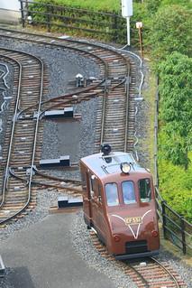 ミニ運転列車 EF55 1