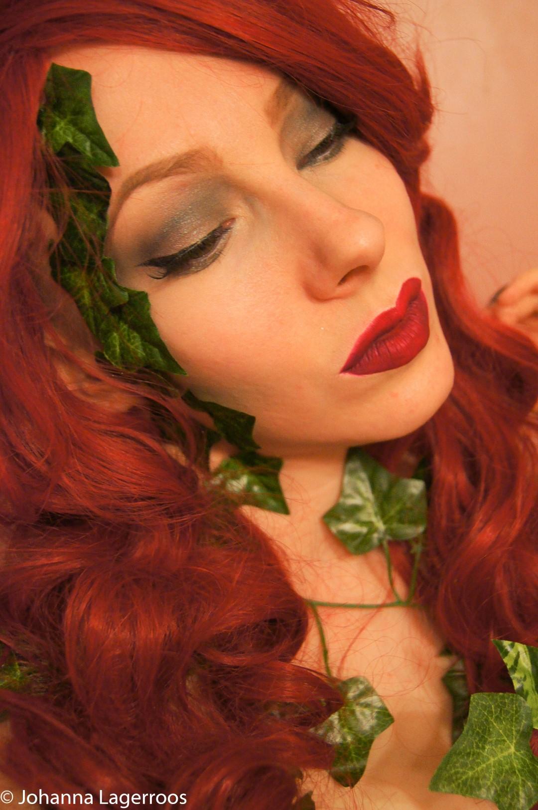 Poison Ivy halloween look
