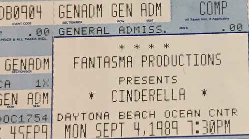 1989 Concert TIcket Stubs