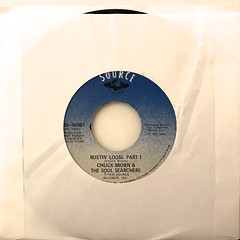 CHUCK BROWN & THE SOUL SEARCHERS:BUSTIN' LOOSE(JACKET A)
