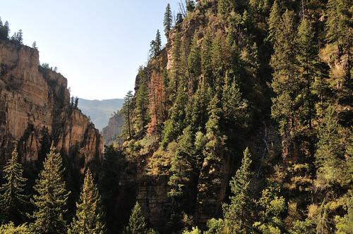 glenwoodcanyon canyon hanginglakepark glenwoodsprings colorado d300s 1685mmvr 1685mmf3556gvr