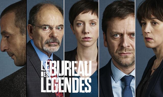 Tv series le bureau des legendes  g