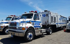 NYPD - 2007 Sterling Actera Tractor 7002 with ACSI Decon Unit 3599 - ESU (9)