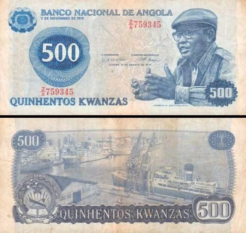 500 Kwanzas Angola 1979 P116