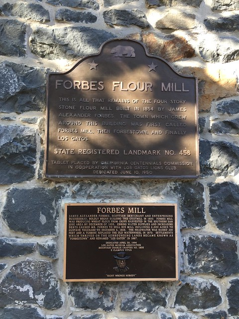 Forbes Mill Plaque