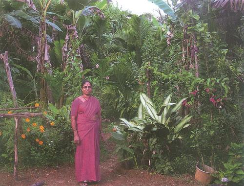 उत्तर कन्नड़ में घरेलू बगीचों को पुनर्जीवित करने में पथप्रदर्शक भूमिका निभाने वाली स्वर्गीय सावित्री अम्मा