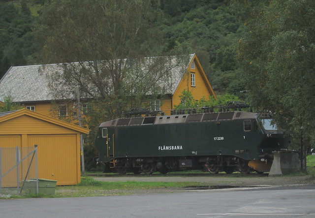 Newewr but Obsolete Locomotive, Flåmsbana Museum 3