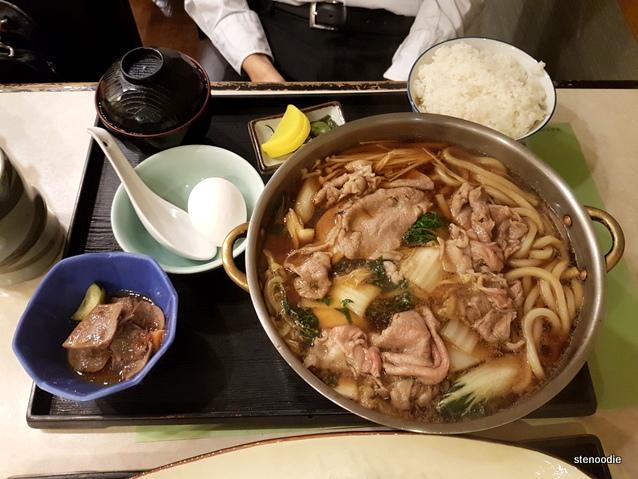 BeefSukiyaki Set (牛肉鍋全餐)