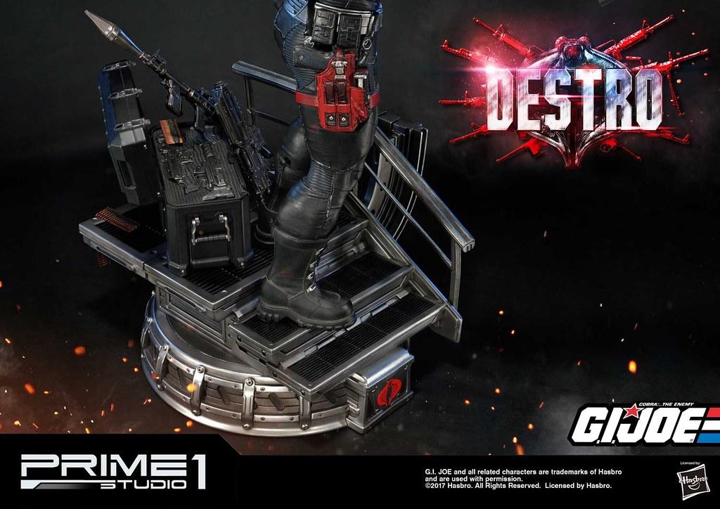 散播戰爭的死亡商人!Prime 1 Studio:PMGJ-04《除暴突擊隊 G.I. Joe》戴斯卓 Destro