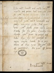 SP1-40 (207) Henry Fitzroy to Henry VIII 14 January 1527