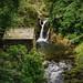 Rydal falls in summer