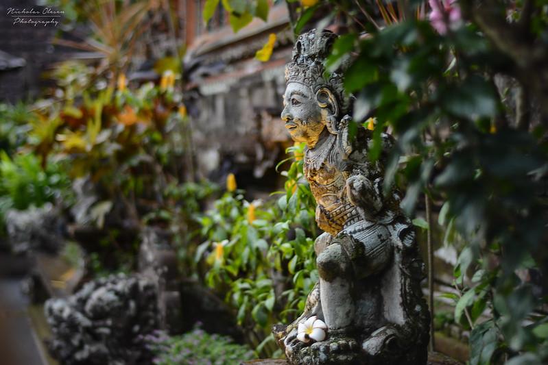 Indonesia | Ubud Temple Statue