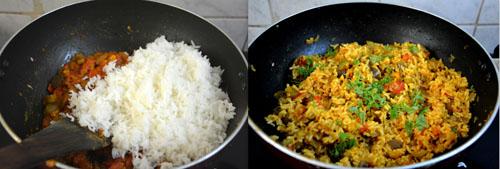 easy brinjal rice