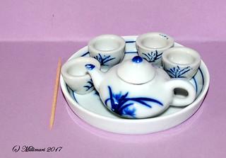 Tea set from Hong Kong