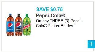 New Pepsi Coupons