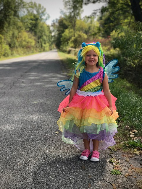 My Little Pony Rainbow Dash Costume For Girls from Chasing Fireflies