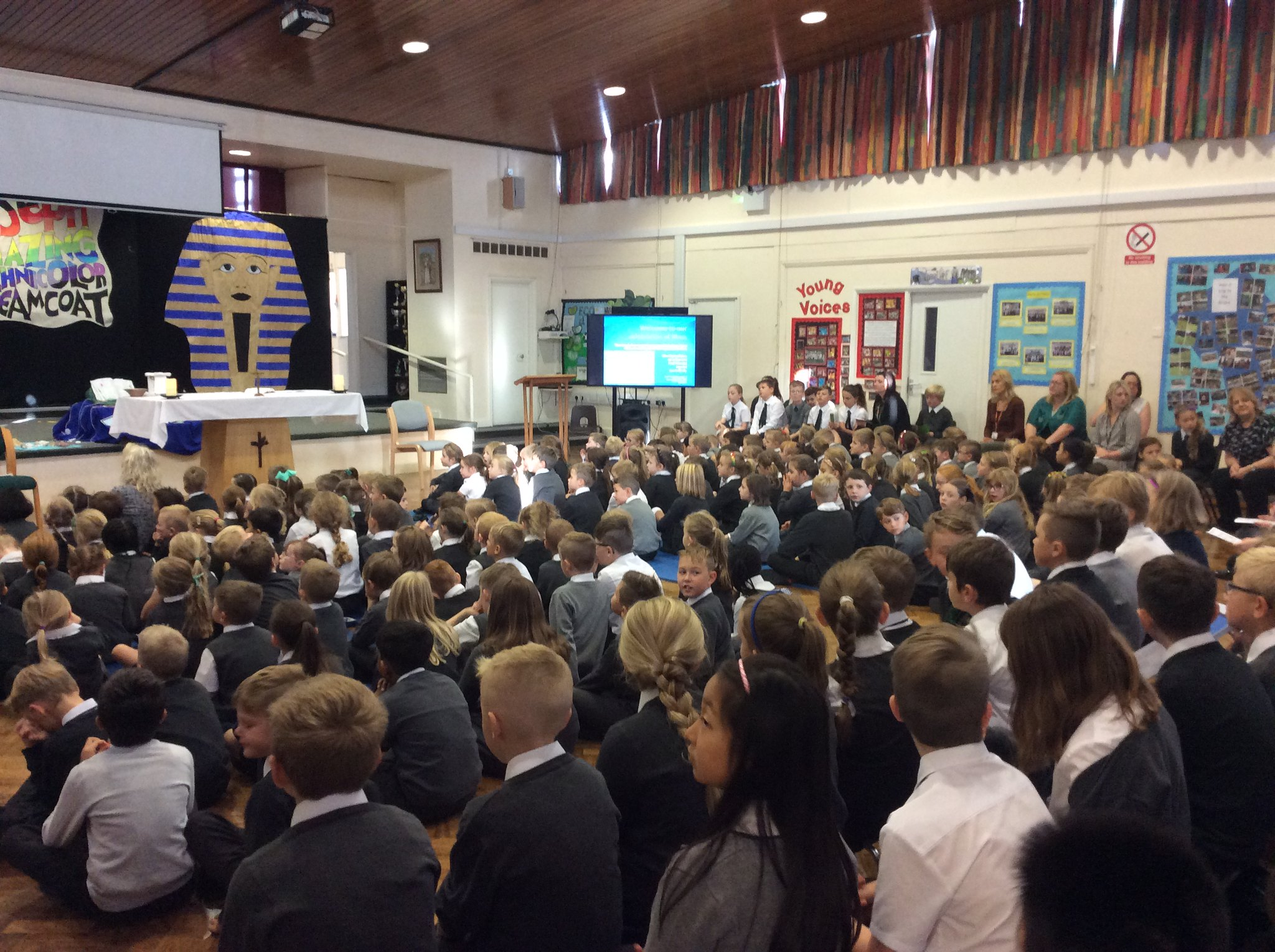School Mass September 2017