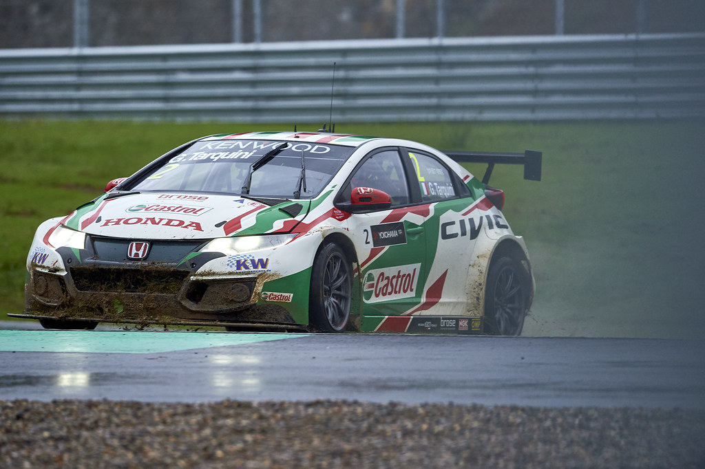 during the 2017 FIA WTCC World Touring Car Championship at Ningbo, China, October 13 to 15 - Photo David Noels / DPPI Gabriele Tarquini, Honda Civic, Castrol Honda Racing