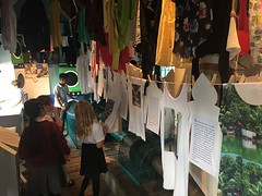 Aww, it was so fantastic working with #schools & doing #workshops with them as part of #art #exhibition #80WashingLines! #InquisitiveMinds