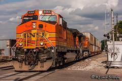 BNSF 4064 | GE C44-9W | BNSF Thayer South Subdivision