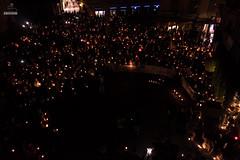 Concentració per reclamar la #LlibertatJordis a Tàrrega (Urgell)