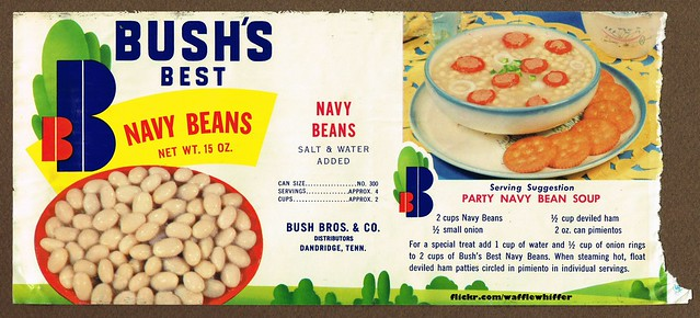 Bush's Best Navy Beans - 1960s