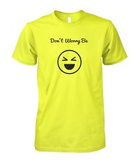 Don't Worry Be Happy T-Shirt 100% Cotton Clothes Unisex Tee Light Colors #catoon #clothes #unisex #kindlecup https://kindlecup.com/collections/womens-clothing-and-accessories/products/be-happy-t-shirt-100-cotton-clothes-unisex-tee-light-colors