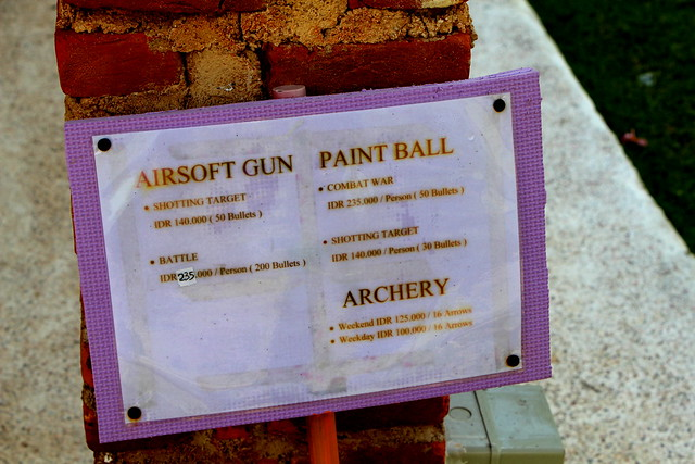 Harris Resort Waterfront Batam: Pricelist of Shooting Range