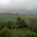 View from Raglan Castle