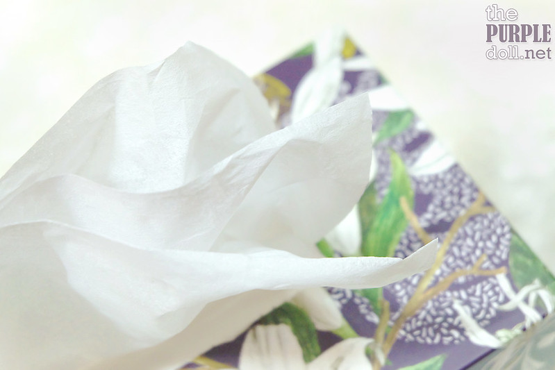 Sanicare White Lilies 3-Ply Facial Tissue