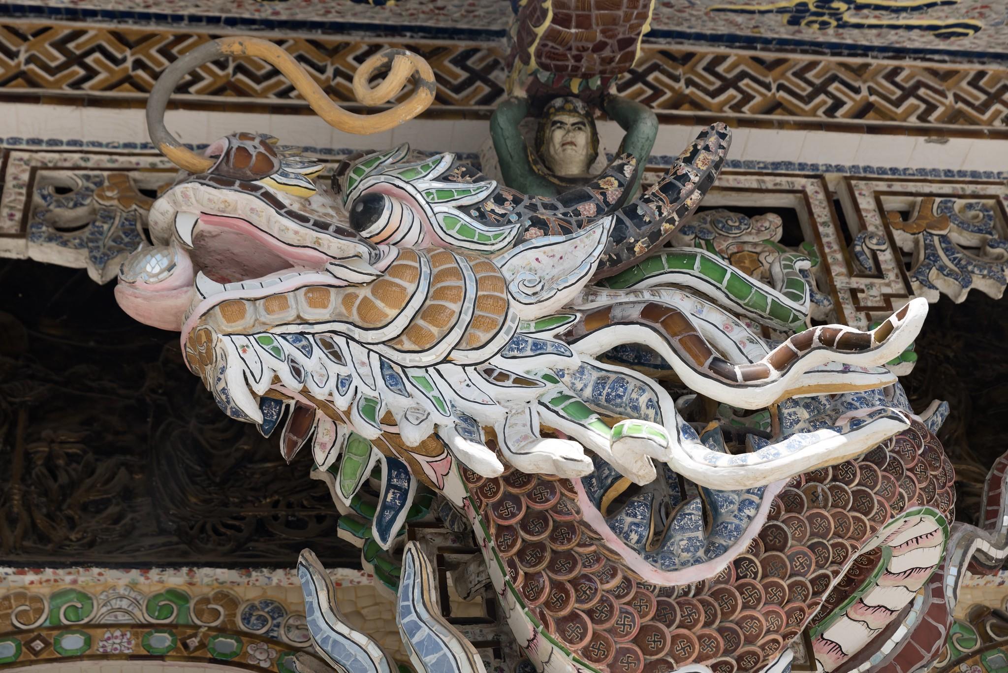 templo de Lino Phuoc En Dalat, Vietnam.