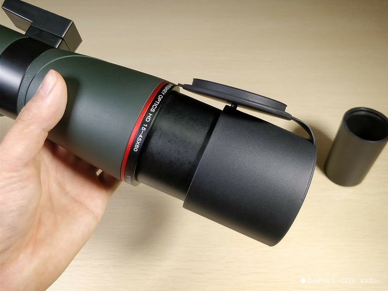 Eyeskey EK8345 望遠鏡 開封レビュー (42)
