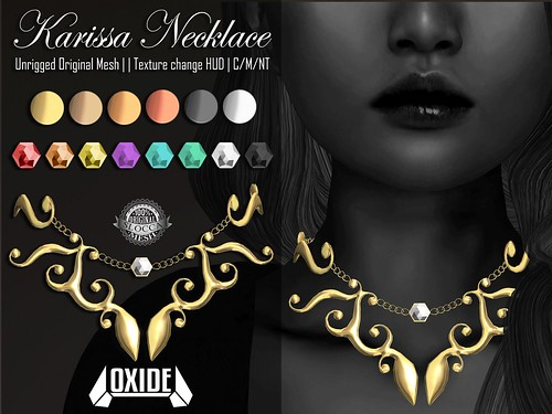 OXIDE Karissa Necklace - Sanarae