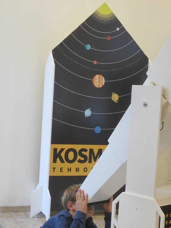 Solar System for Kids Exhibit at EPSC 2017