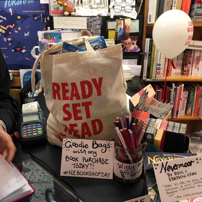 NZ Bookshop Day 2017
