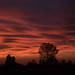 Amazing real sunset and clouds by votredame