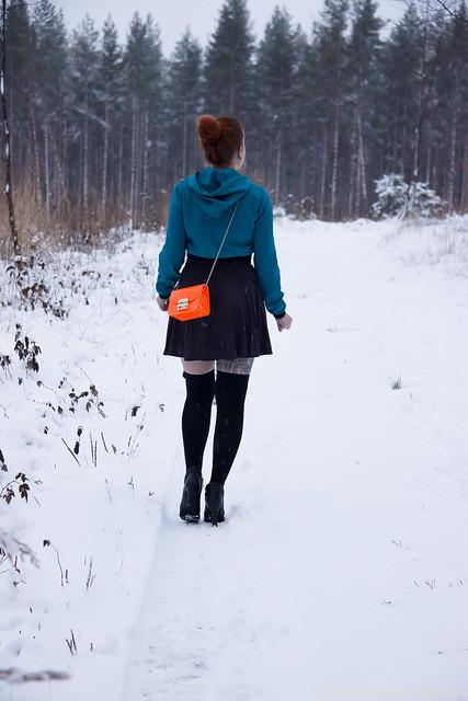 Päivän asu tyylibloggaaja pukeutuminen
