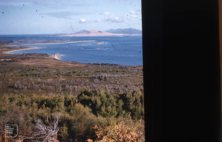 Vinegar Hill, Flinders Island. View to Vansittart and Cape Barren Islands. April 1958