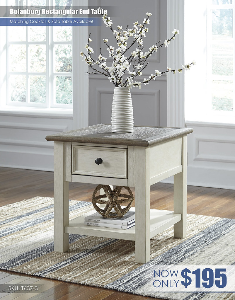 Bolanburg Rectangular End Table_T637-3